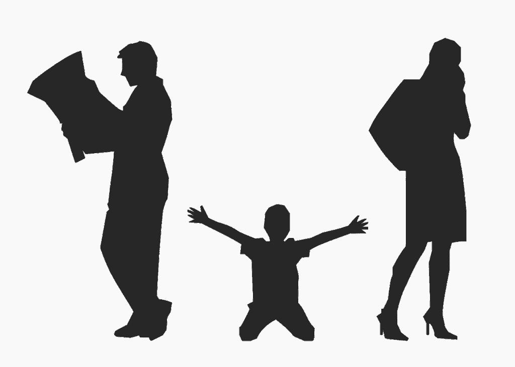 ילד והורים